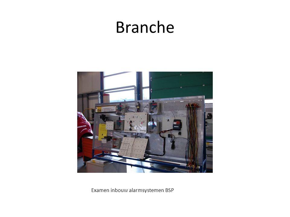 Branche Examen inbouw alarmsystemen BSP