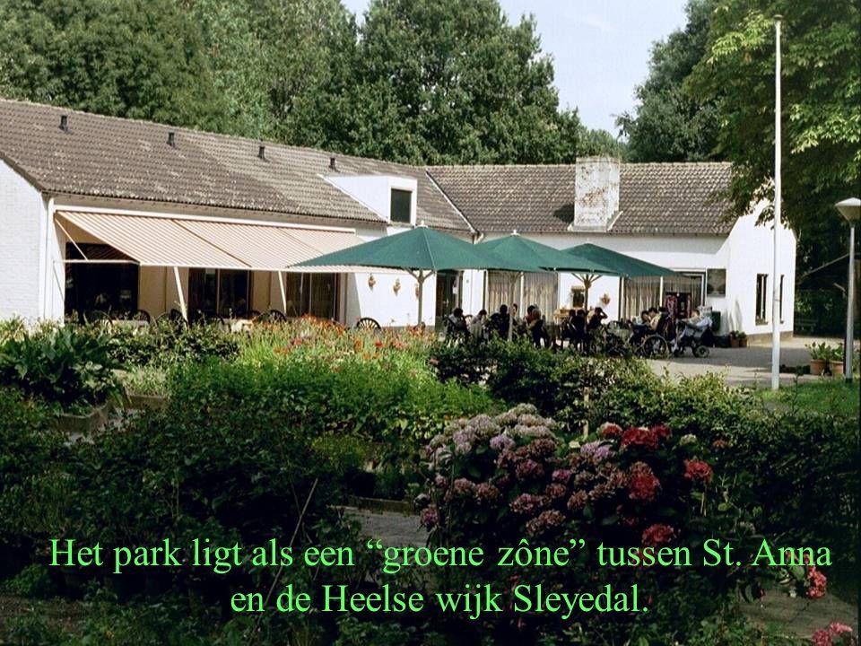 """Het park ligt als een """"groene zône"""" tussen St. Anna en de Heelse wijk Sleyedal."""
