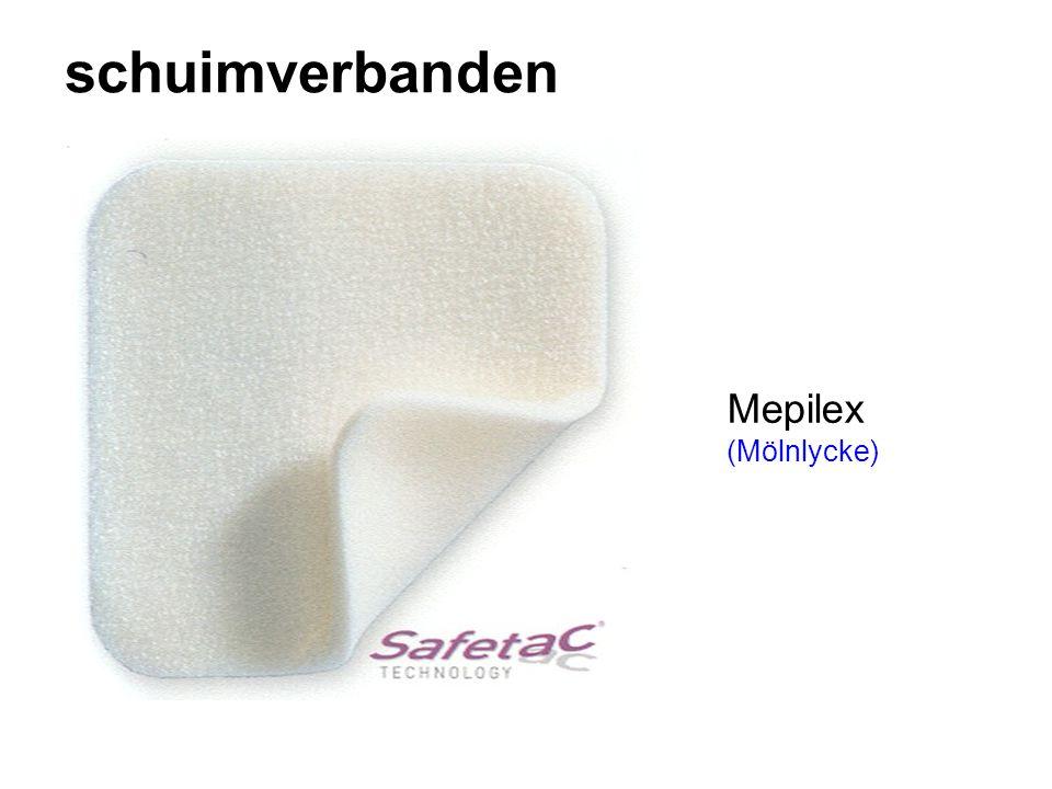 schuimverbanden Mepilex (Mölnlycke)
