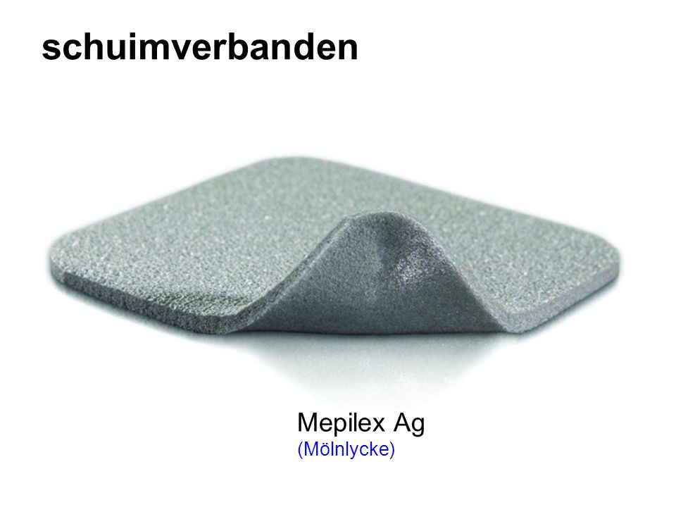 schuimverbanden Mepilex Ag (Mölnlycke)