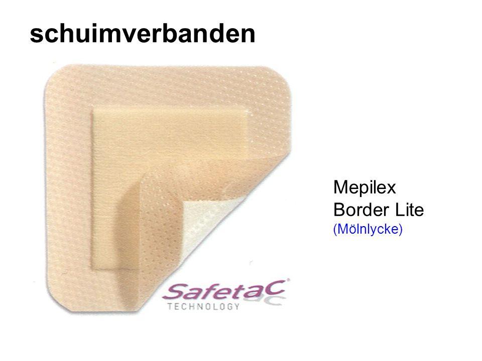 schuimverbanden Mepilex Border Lite (Mölnlycke)