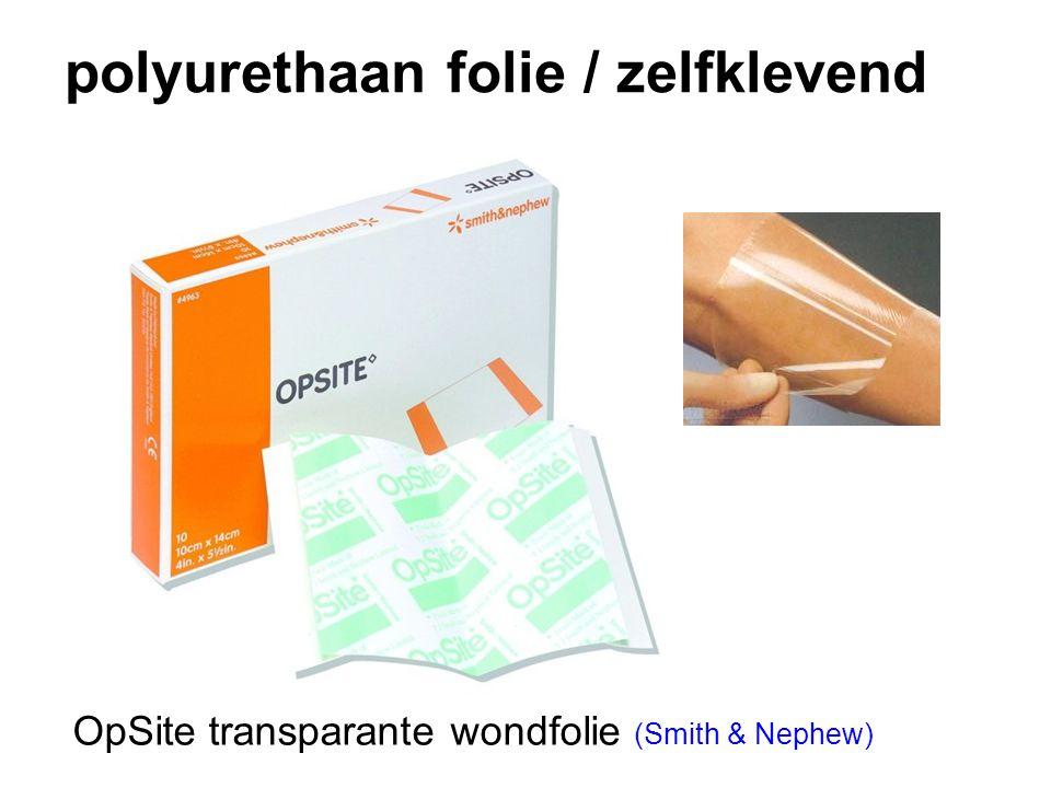 polyurethaan folie / zelfklevend OpSite transparante wondfolie (Smith & Nephew)