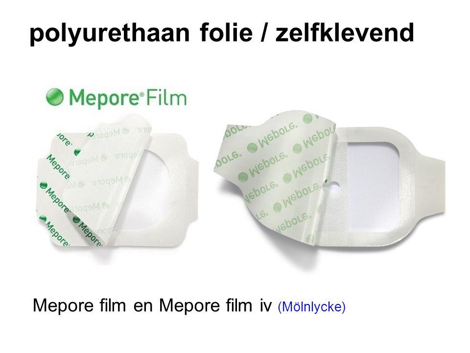polyurethaan folie / zelfklevend Mepore film en Mepore film iv (Mölnlycke)