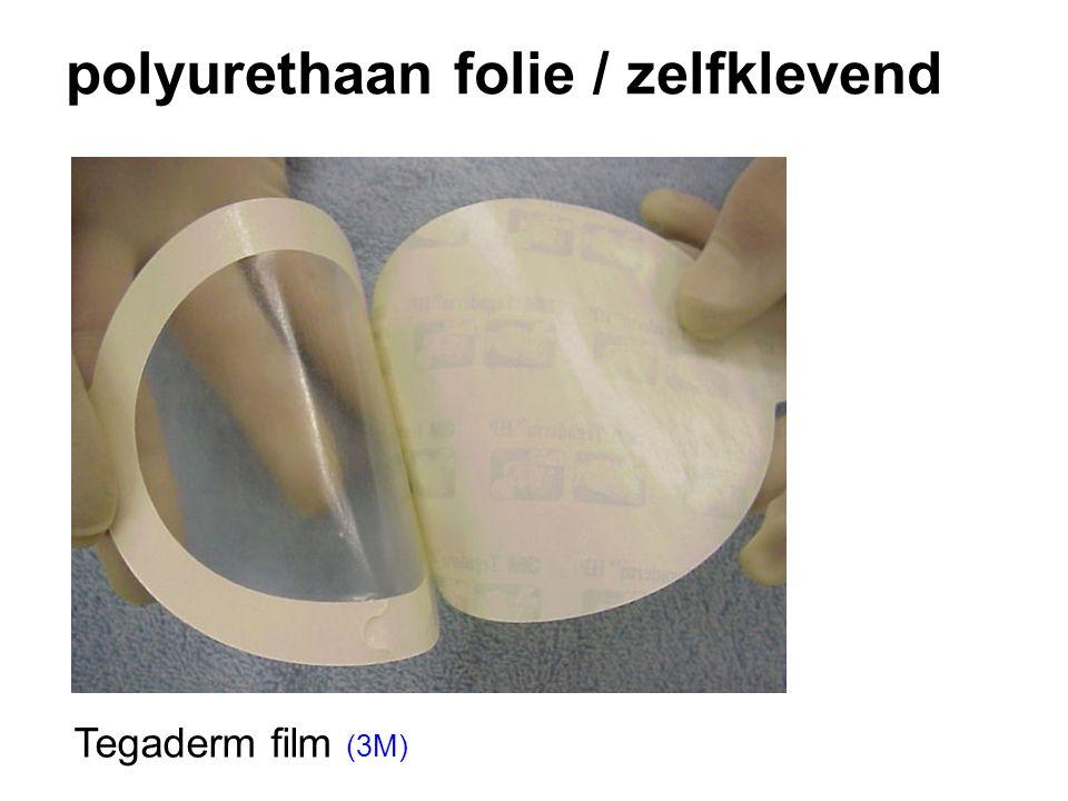 polyurethaan folie / zelfklevend Tegaderm film (3M)