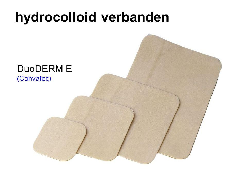 hydrocolloid verbanden DuoDERM E (Convatec)