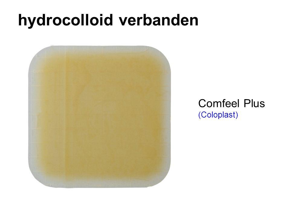 hydrocolloid verbanden Comfeel Plus (Coloplast)