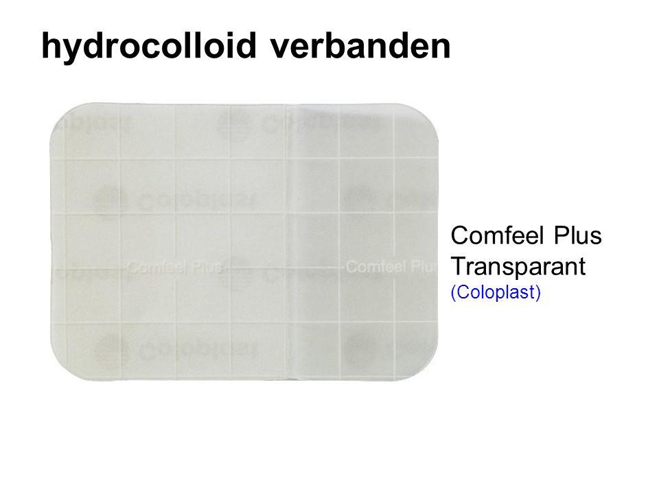 hydrocolloid verbanden Comfeel Plus Transparant (Coloplast)