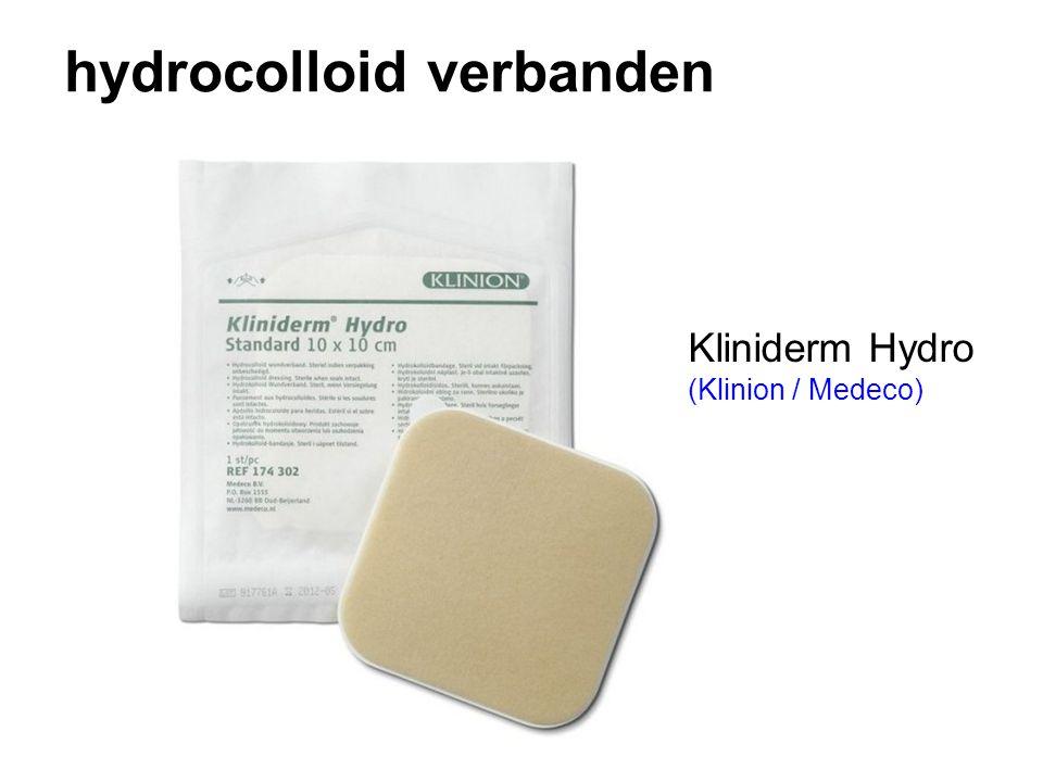 hydrocolloid verbanden Kliniderm Hydro (Klinion / Medeco)