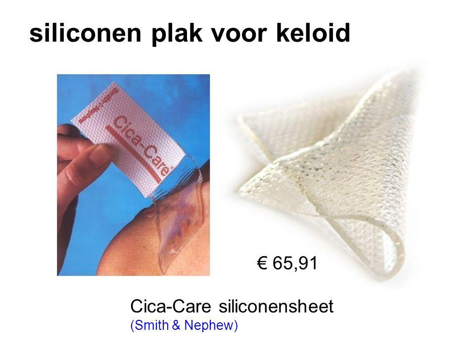 siliconen plak voor keloid Cica-Care siliconensheet (Smith & Nephew) € 65,91