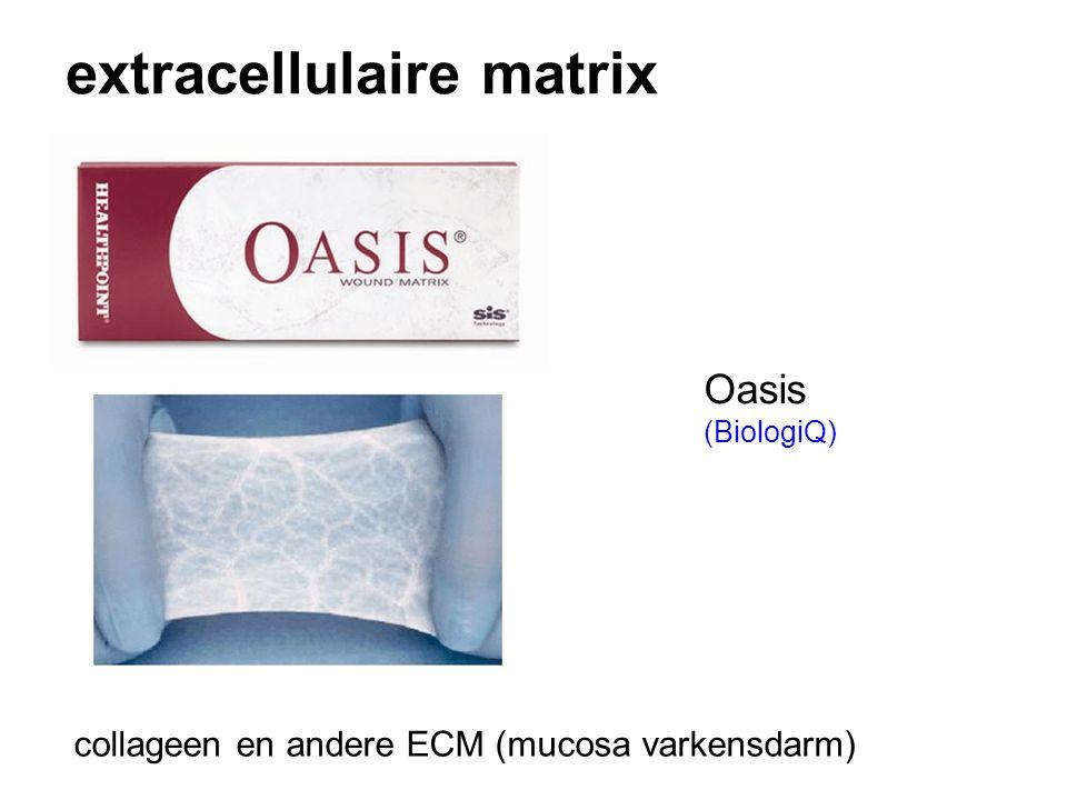 extracellulaire matrix collageen en andere ECM (mucosa varkensdarm) Oasis (BiologiQ)