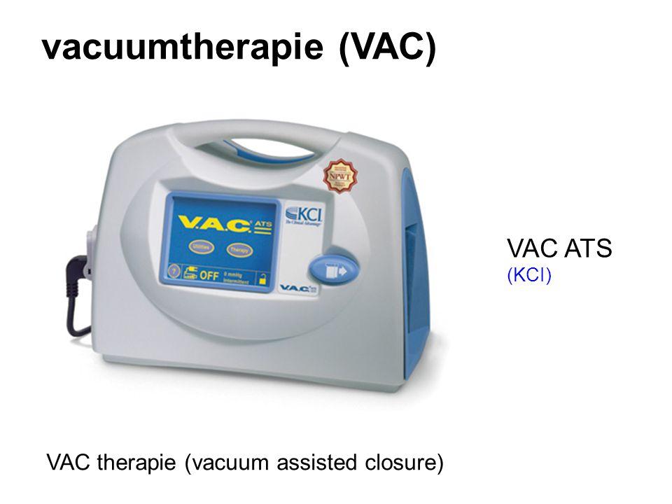 vacuumtherapie (VAC) VAC therapie (vacuum assisted closure) VAC ATS (KCI)
