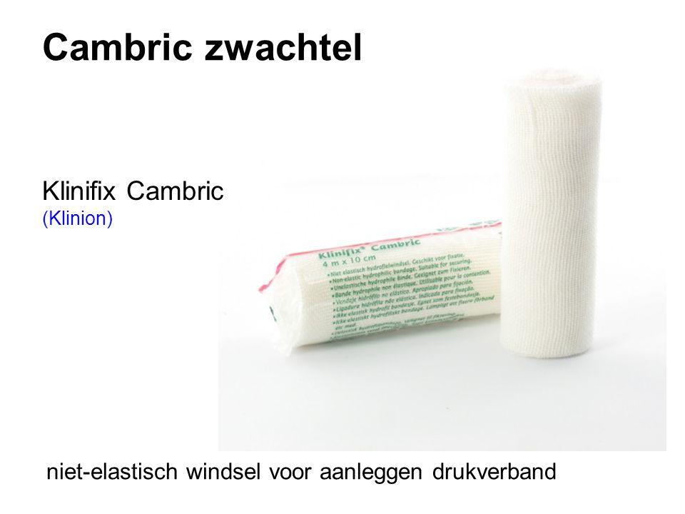 Cambric zwachtel Klinifix Cambric (Klinion) niet-elastisch windsel voor aanleggen drukverband
