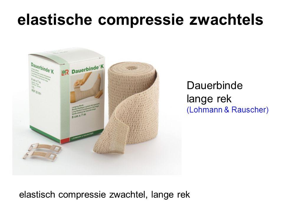 elastische compressie zwachtels Dauerbinde lange rek (Lohmann & Rauscher) elastisch compressie zwachtel, lange rek