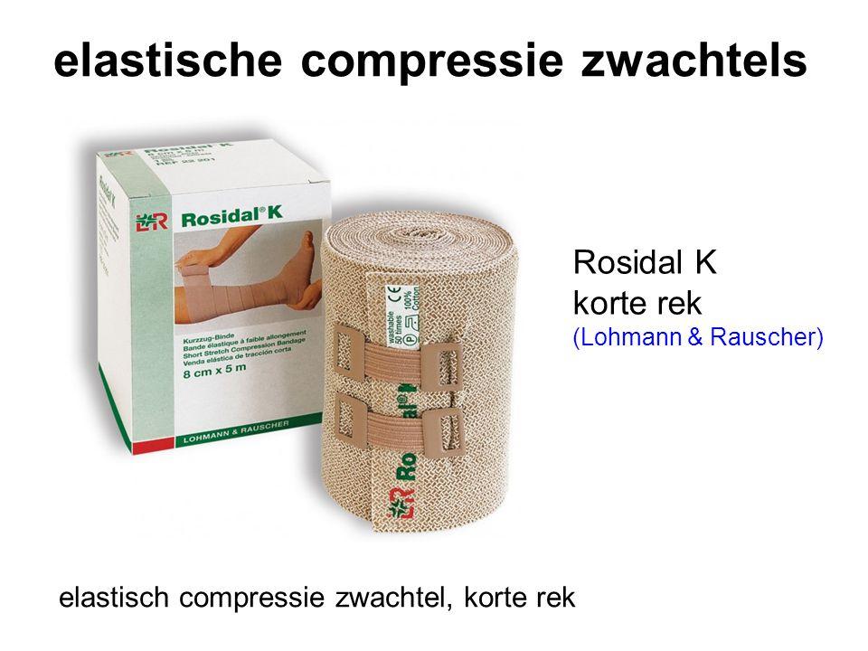 elastische compressie zwachtels Rosidal K korte rek (Lohmann & Rauscher) elastisch compressie zwachtel, korte rek