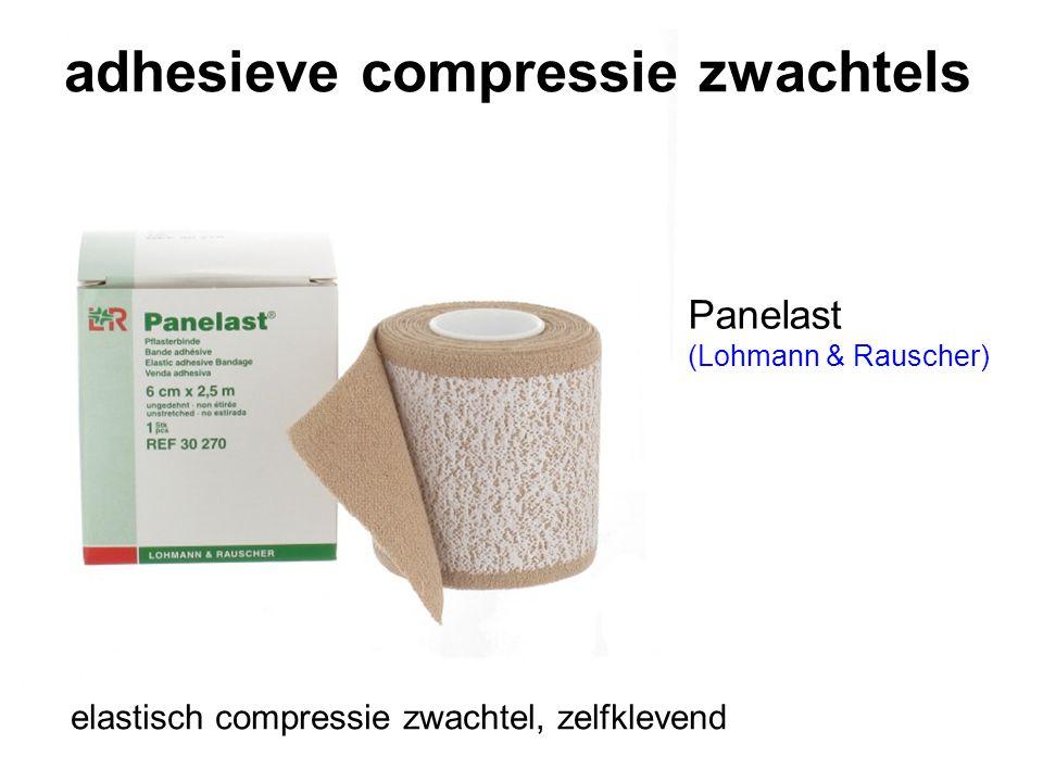 adhesieve compressie zwachtels Panelast (Lohmann & Rauscher) elastisch compressie zwachtel, zelfklevend
