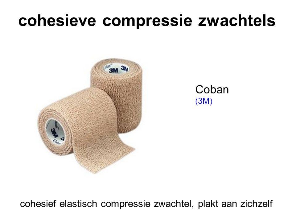 cohesieve compressie zwachtels Coban (3M) cohesief elastisch compressie zwachtel, plakt aan zichzelf