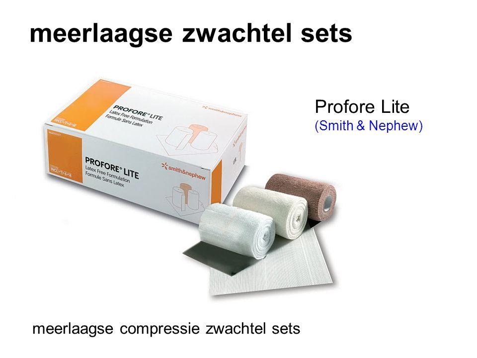 meerlaagse zwachtel sets Profore Lite (Smith & Nephew) meerlaagse compressie zwachtel sets