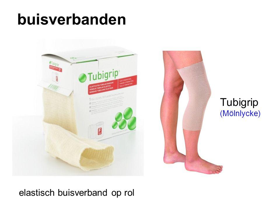 buisverbanden Tubigrip (Mölnlycke) elastisch buisverband op rol