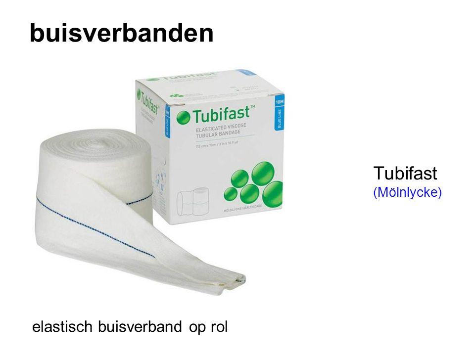 buisverbanden Tubifast (Mölnlycke) elastisch buisverband op rol