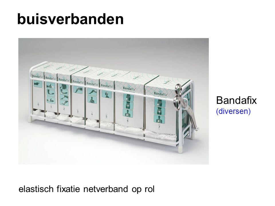 buisverbanden Bandafix (diversen) elastisch fixatie netverband op rol