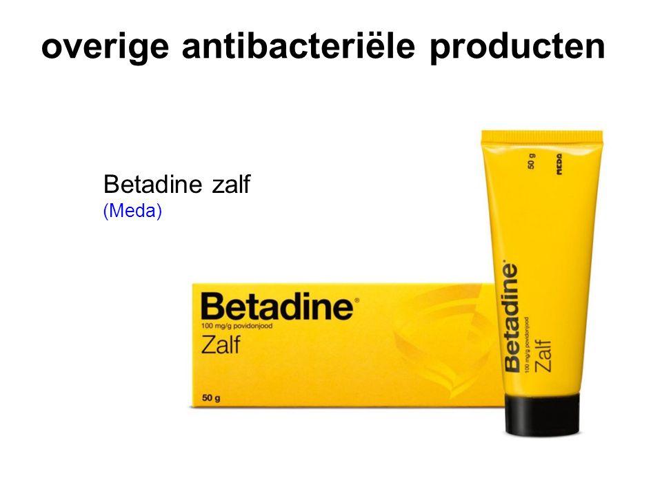overige antibacteriële producten Betadine zalf (Meda)