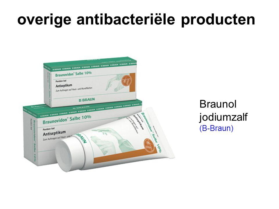 overige antibacteriële producten Braunol jodiumzalf (B-Braun)