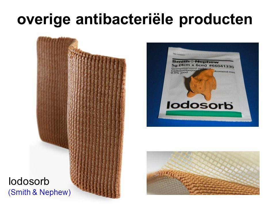 overige antibacteriële producten Iodosorb (Smith & Nephew)