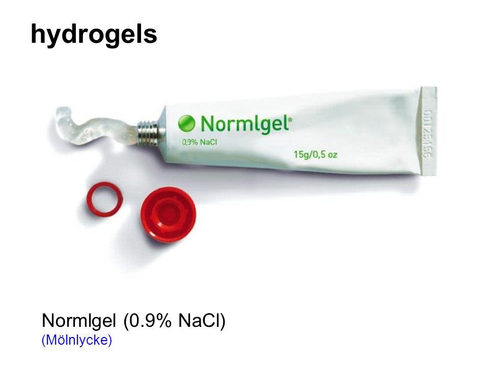 hydrogels Normlgel (0.9% NaCl) (Mölnlycke)