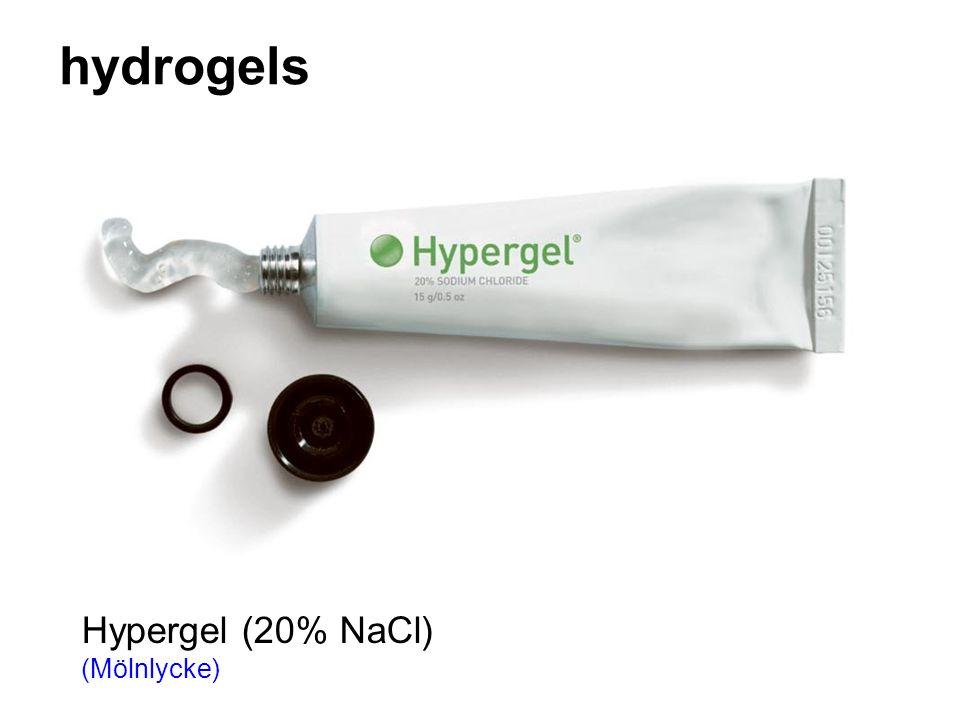hydrogels Hypergel (20% NaCl) (Mölnlycke)
