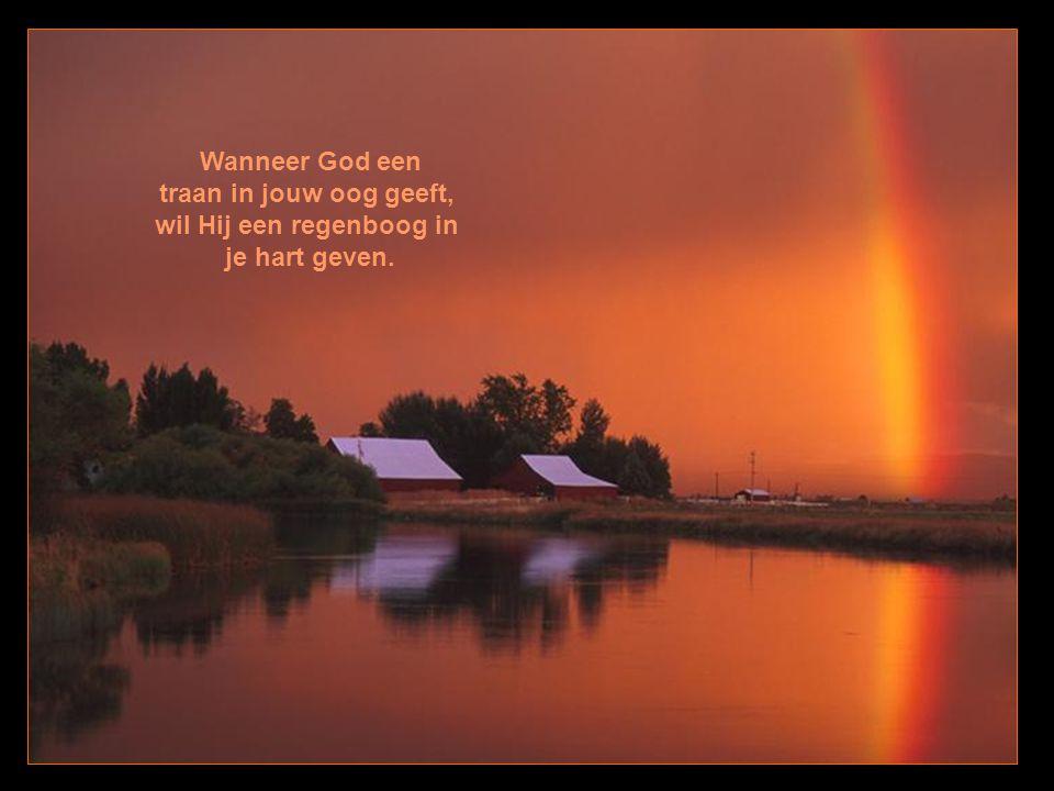 Vertel God niet (alleen) hoe groot je probleem is, maar vertel je probleem hoe groot je God is.