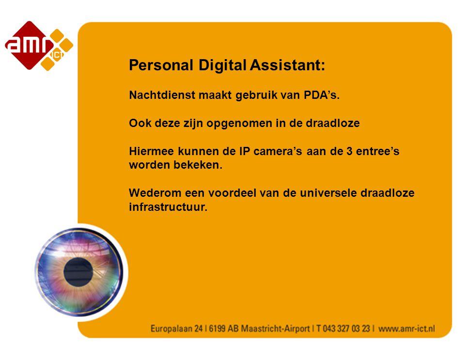 Personal Digital Assistant: Nachtdienst maakt gebruik van PDA's.