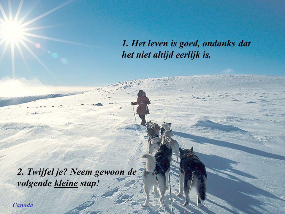 Noorwegen. Teksten van: Regina Brett. 45 levenslessen Nov 2009 He Yan Music: snowdream