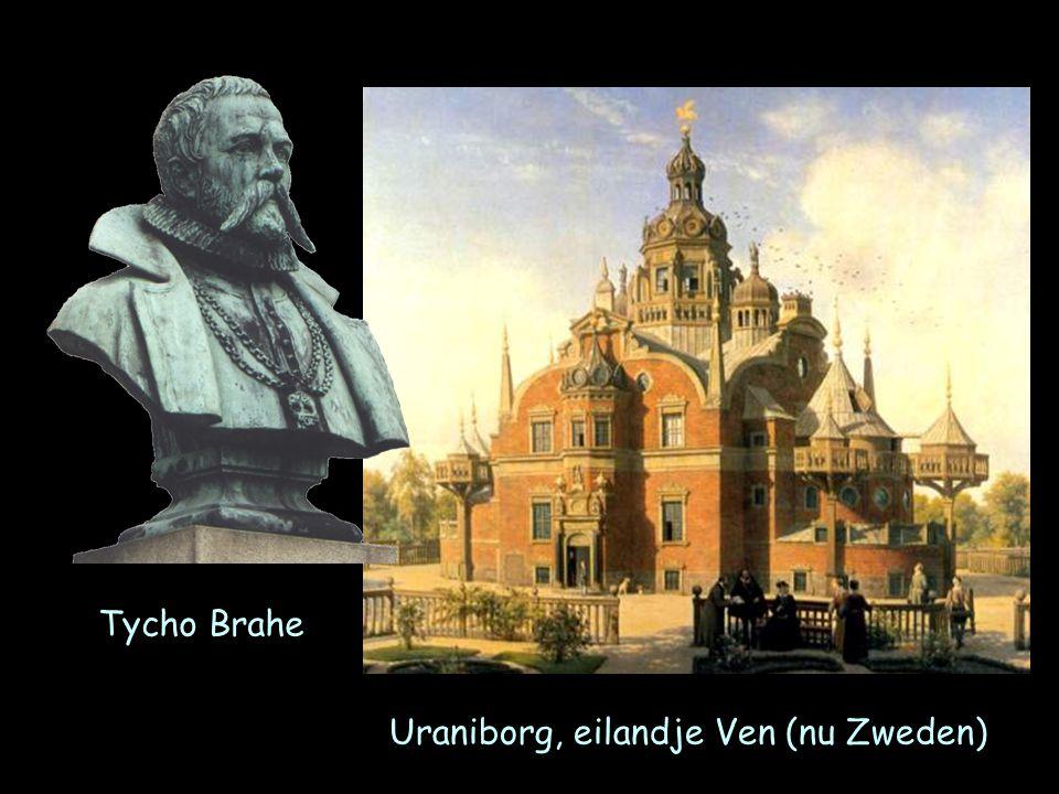Tycho Brahe Uraniborg, eilandje Ven (nu Zweden)