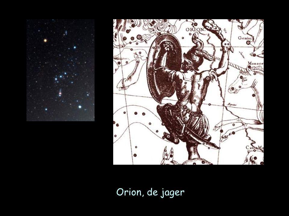 een lichtjaar = de afstand die het licht (300.000 km/sec!) in 1 jaar aflegt maan1,3 lichtseconden zon8 lichminuten dichtsbijstaande ster3,2 lichtjaar