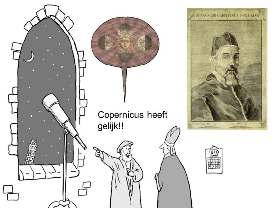 Copernicus heeft gelijk!!