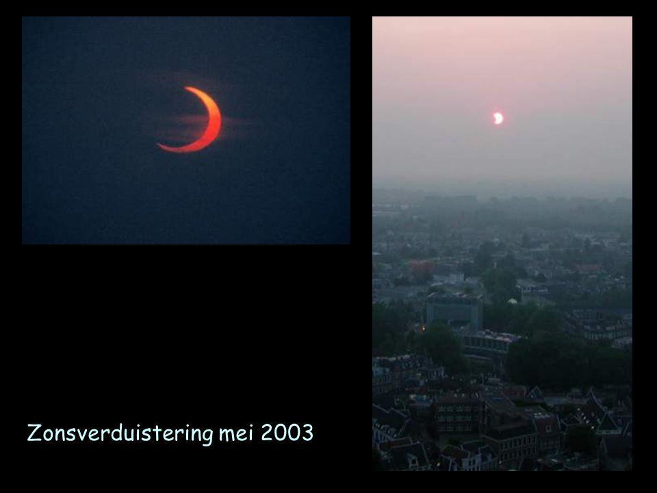 De Hollandse kijker of Galileo telescoop het objectief is een bolle lens; het oculair een holle lens