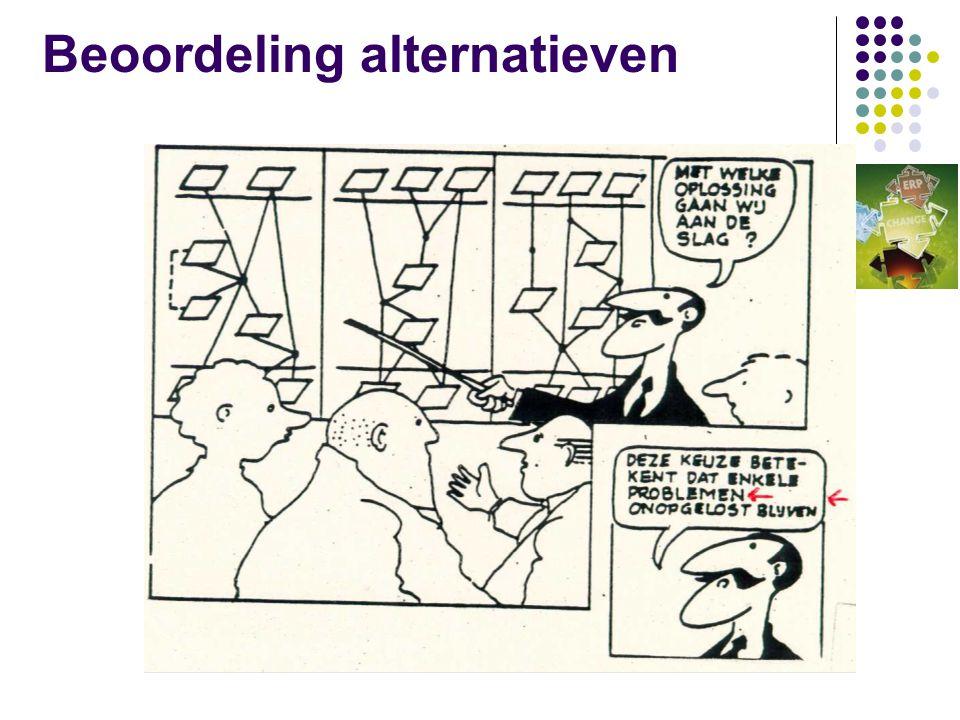 Beoordeling alternatieven