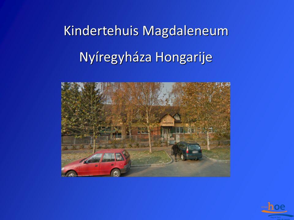 Kindertehuis Magdaleneum Nyíregyháza Hongarije