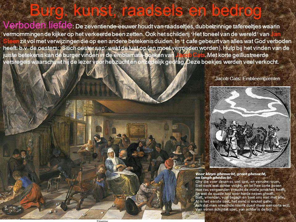 Burg.kunst, raadsels en bedrog Pieter Claesz.