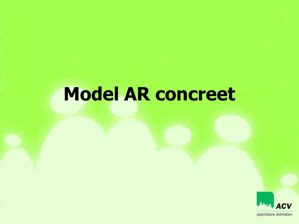 Model AR concreet