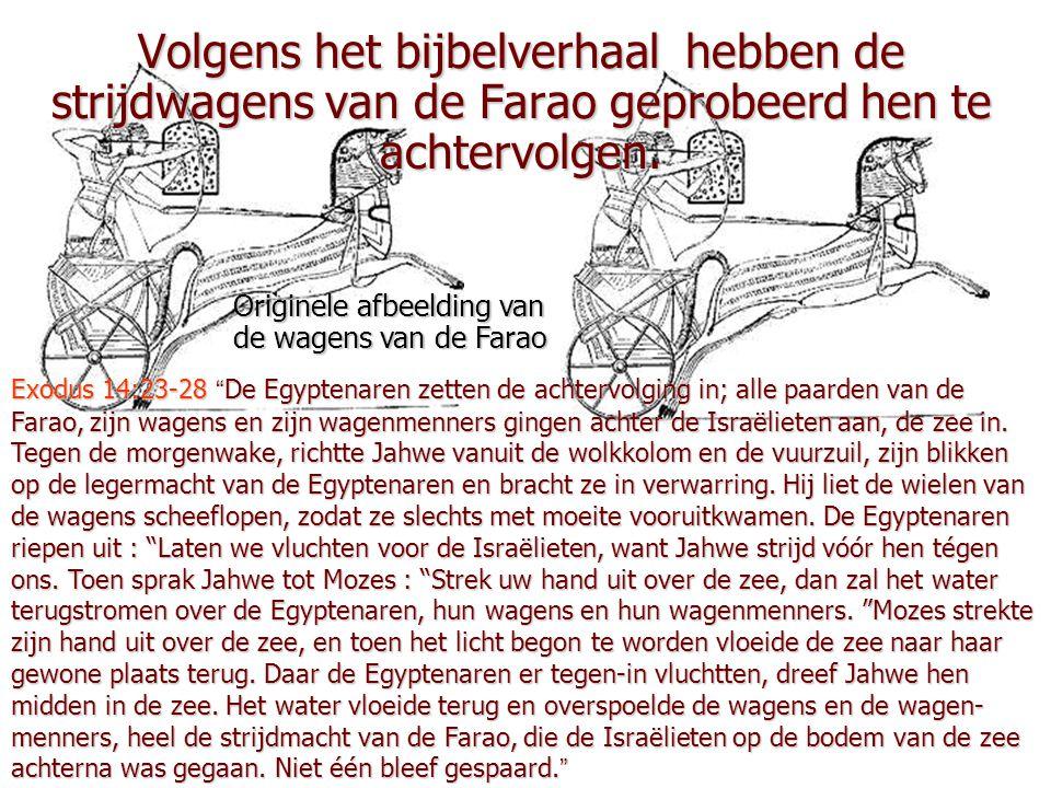 """Exodus 14:21-22 """"Mozes strekte zijn hand uit over de zee. En Jahwe deed die hele nacht,door een sterke oostenwind, de zee terugwijken. Hij maakte van"""