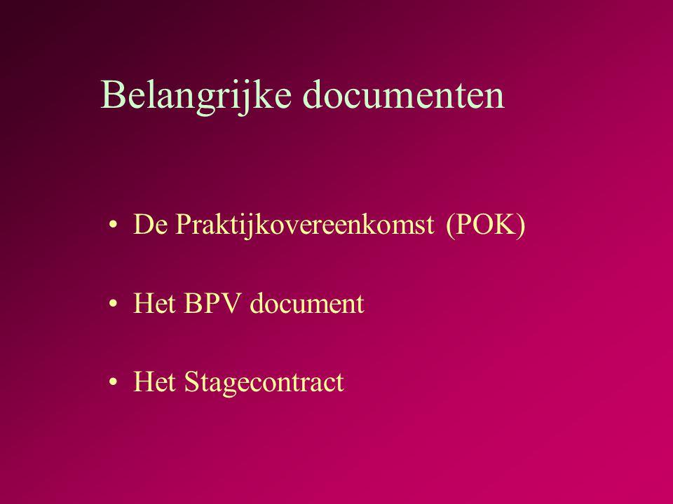 Leerdoelen en verwachtingen van de stage blz.8 en blz.9 Vul dit in samen met je SLB-er of stagedocent en samen met je stagebegeleider op het bedrijf.