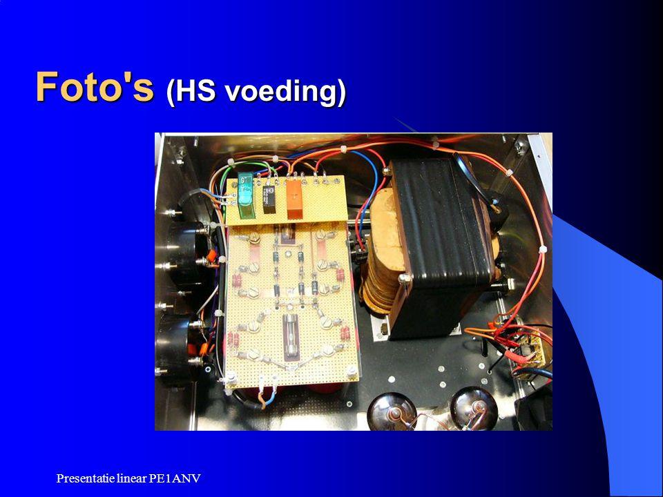 Presentatie linear PE1ANV Foto's (HS voeding)
