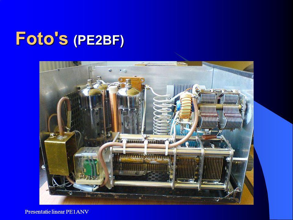 Presentatie linear PE1ANV Foto's (PE2BF)