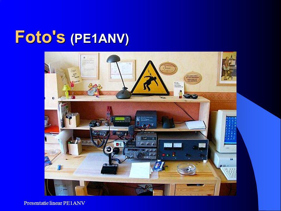 Presentatie linear PE1ANV Foto's (PE1ANV)