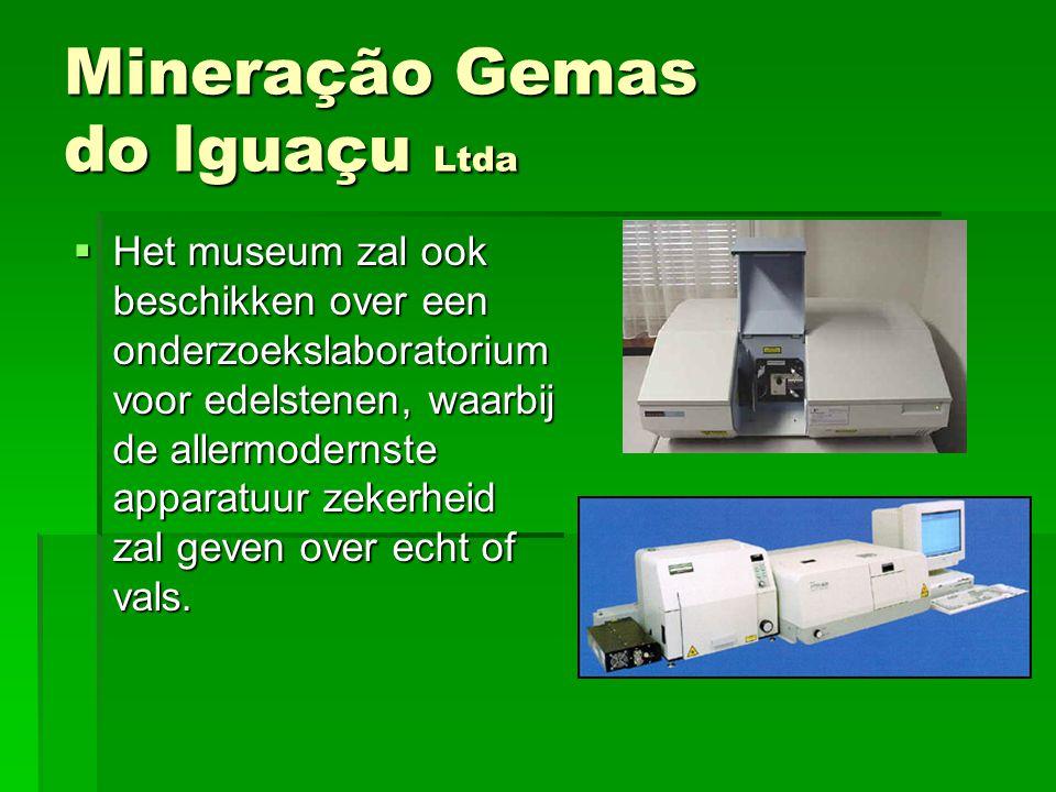 HHHHet museum zal ook beschikken over een onderzoekslaboratorium voor edelstenen, waarbij de allermodernste apparatuur zekerheid zal geven over ec