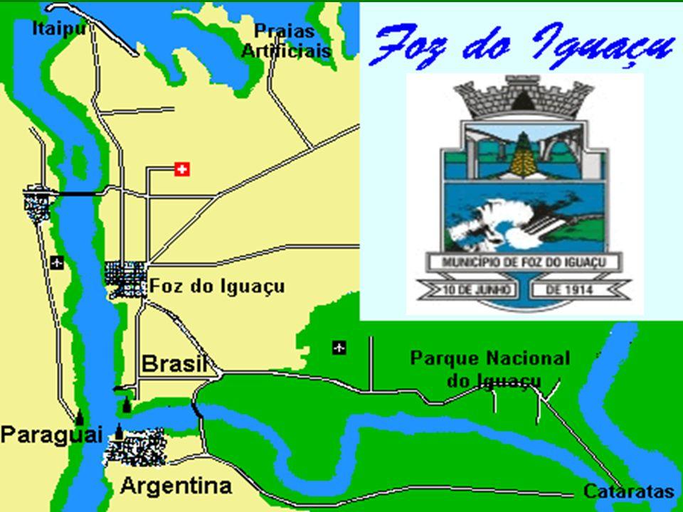 DDDDe Brug President Tancredo Neves verbindt Foz do Iguaçu in Brazilië met Porto do Iguassu in Argentinië IIIIngehuldigd op 29 november 1985 DDDDe brug is 489 m lang met een centrale spanwijdte van 220 m, ze is 16,50 m breed en 72 m hoog, gemeten vanaf het laagste punt in de rivierbedding.