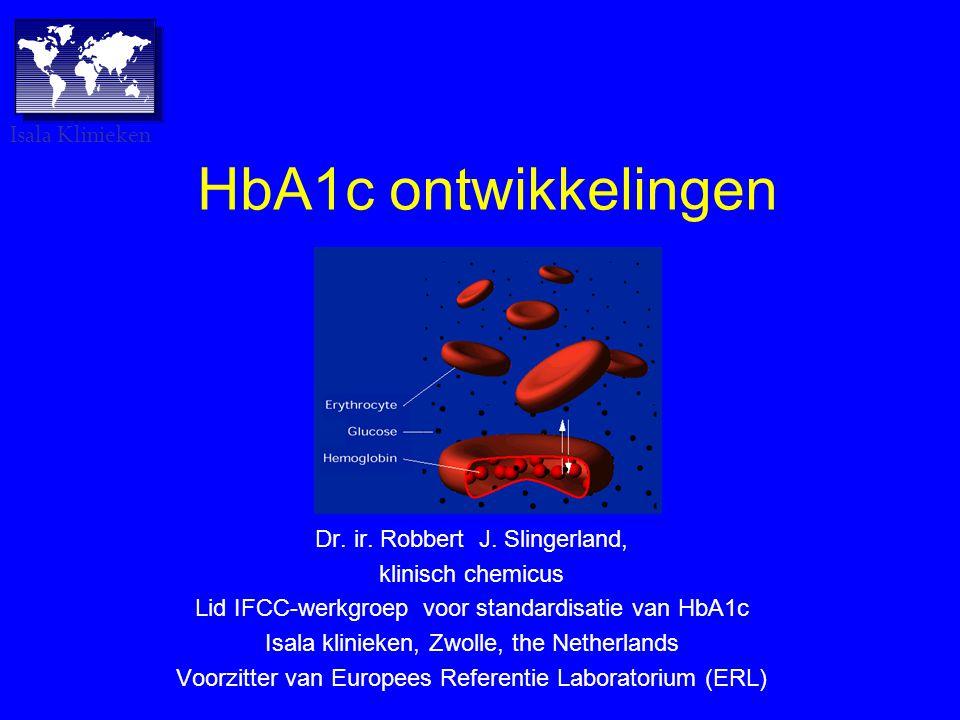 HbA1c ontwikkelingen Dr.ir. Robbert J.
