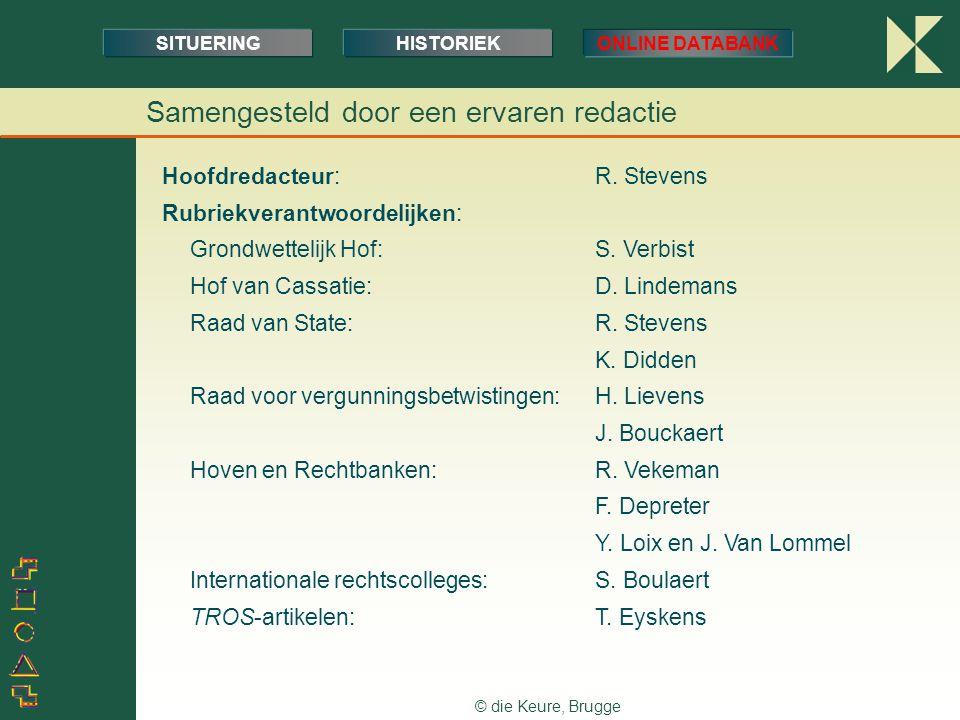 © die Keure, Brugge Prijszetting Voor abonnees op het tijdschrift TROS … →account met enkele login bij TROSdatabank, incl.