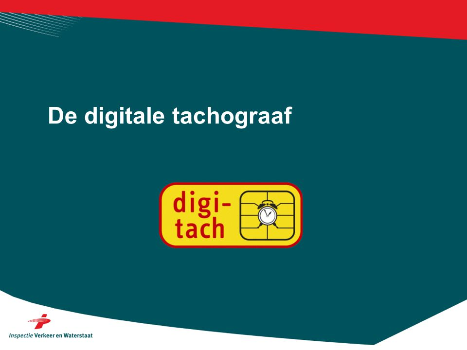 De digitale tachograaf